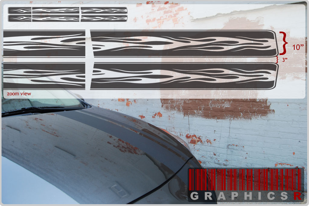 Racing Stripe Decals