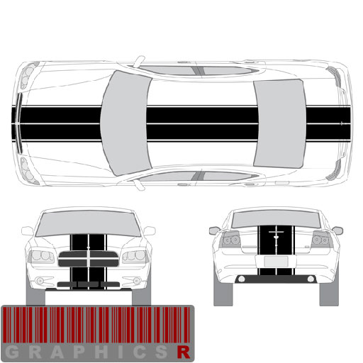 Racing Stripe Graphic Application
