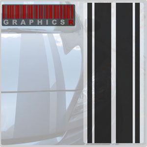 Racing Stripes - Modern Rally Graphic