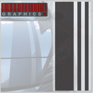 Racing Stripes - Minor Threat Graphic