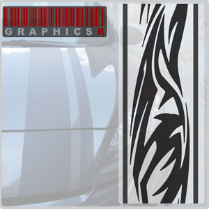 Racing Stripes - Tribal Stripe Graphic